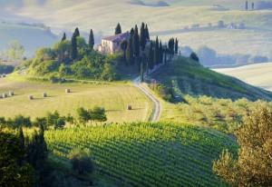 campagna Toscana, Italia